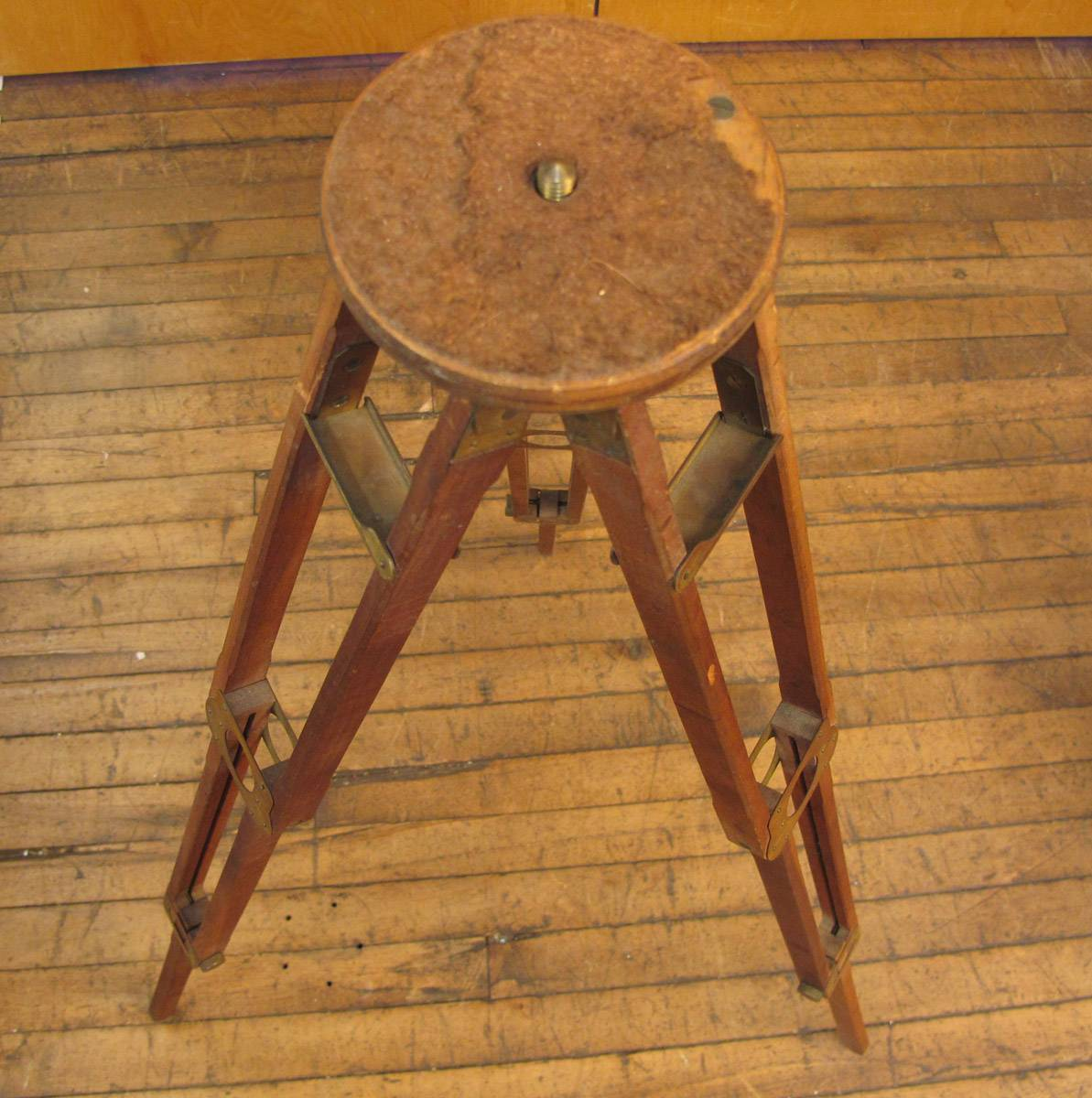 Antique Wood Tripod