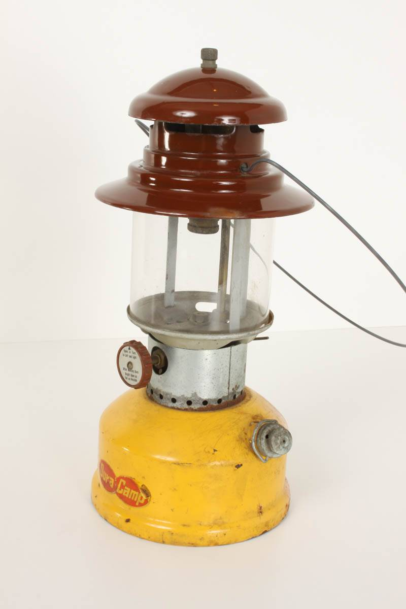 Dura Camp Lantern Camping Lamp Model 730 VINTAGE