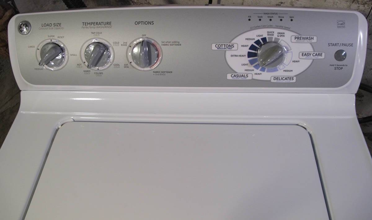 Ge General Electric Clothes Washer 3 Months Old Mint