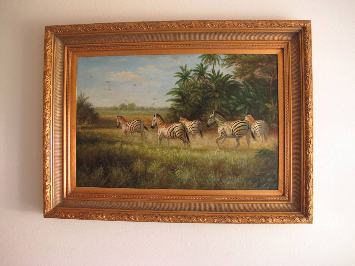 Canvas Oil Painting Africa
